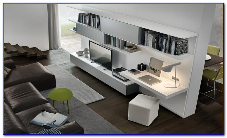 Schreibtisch Im Wohnzimmer Ideen
