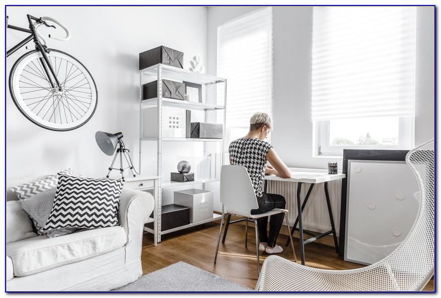 Schreibtisch Im Wohnzimmer Verstecken