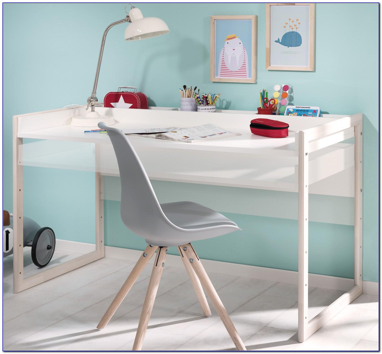 Schreibtisch Kind Weiß Höhenverstellbar