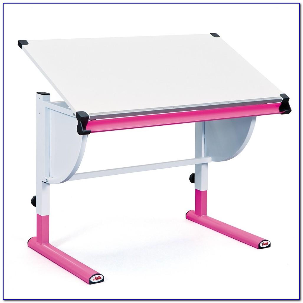 Schreibtisch Kinder Höhenverstellbar Moll