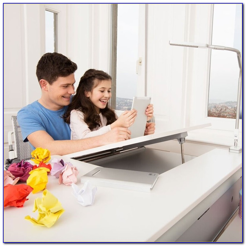 Schreibtisch Kinderzimmer Höhenverstellbar