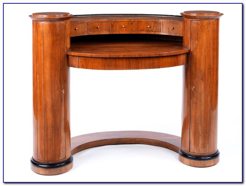 Schreibtisch Kirschbaum Biedermeier