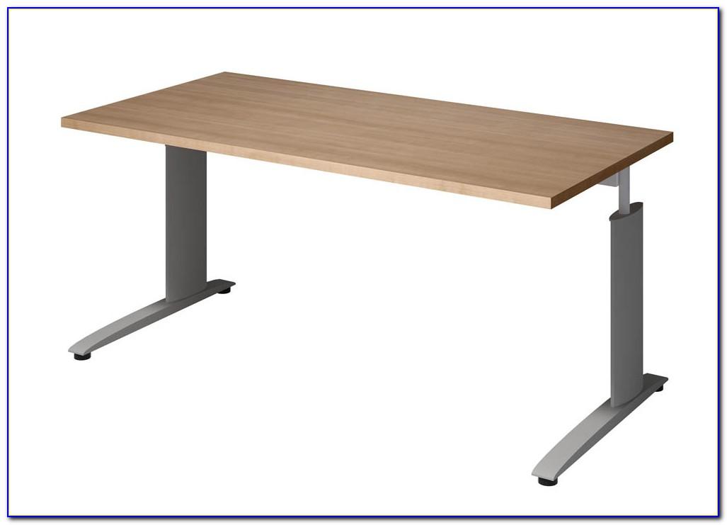 Schreibtisch Kirsche Weiss