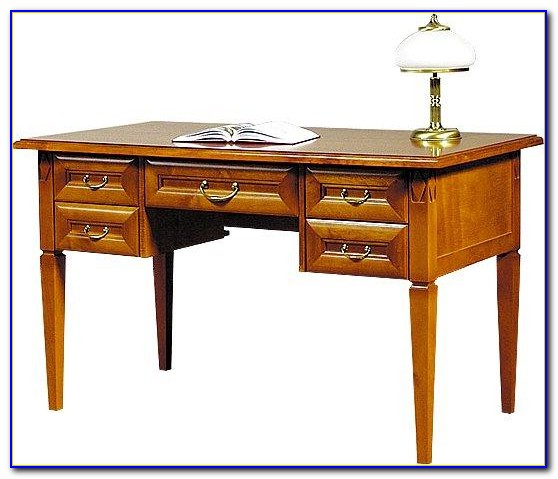 Schreibtisch Klassisch Weiß