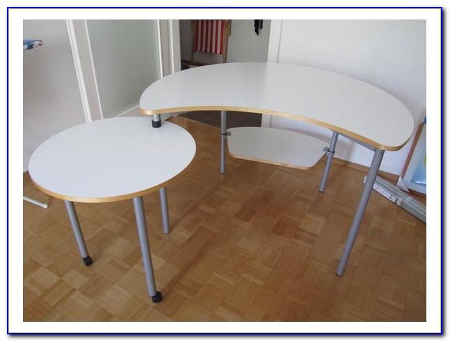 Schreibtisch Klein Weiß