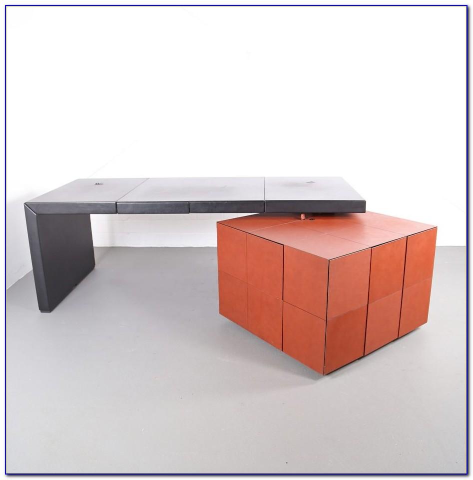 Schreibtisch Ledersessel