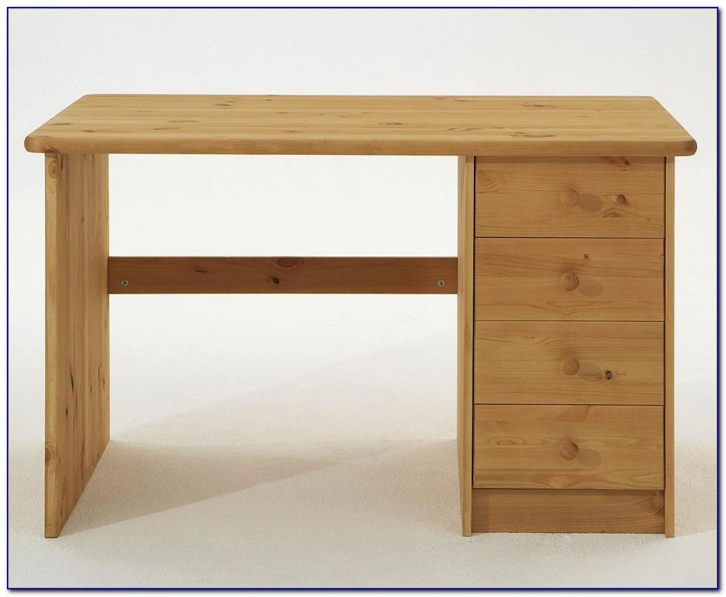 Schreibtisch Leimholzplatte