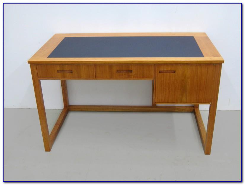 Schreibtisch Linoleumplatte