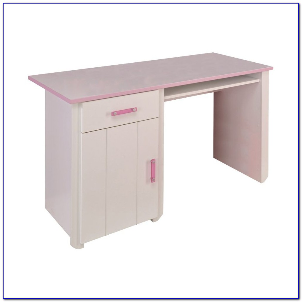 Schreibtisch Mädchen Weiß