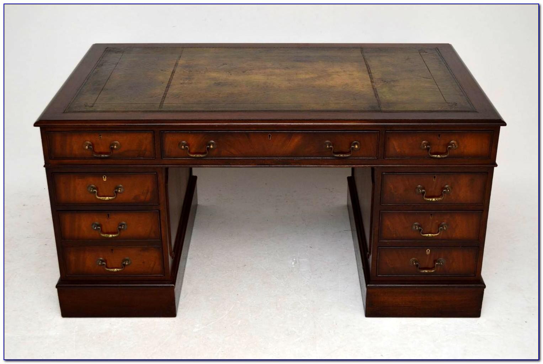 Schreibtisch Mahagoni Antik