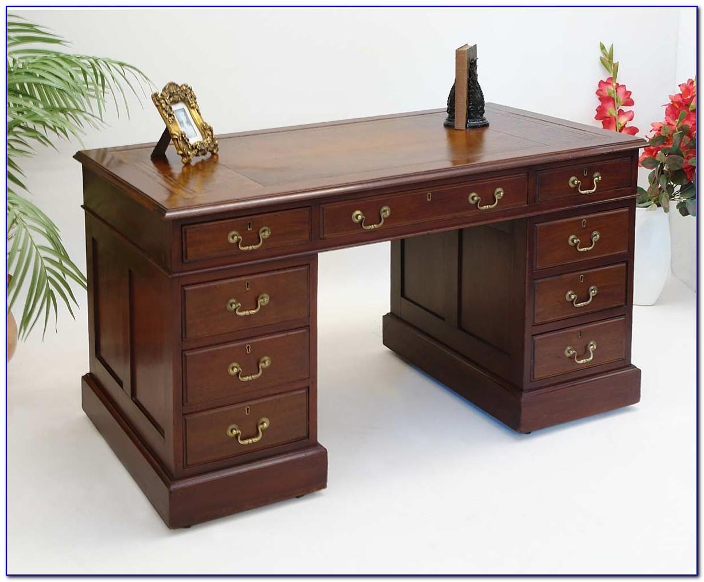 Schreibtisch Mahagoni Büromöbel