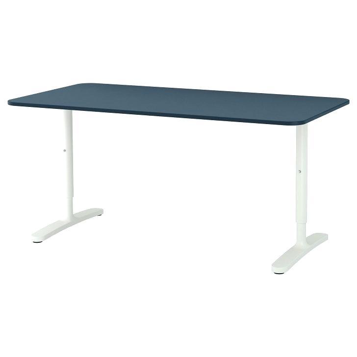 Schreibtisch Malm Schwarz