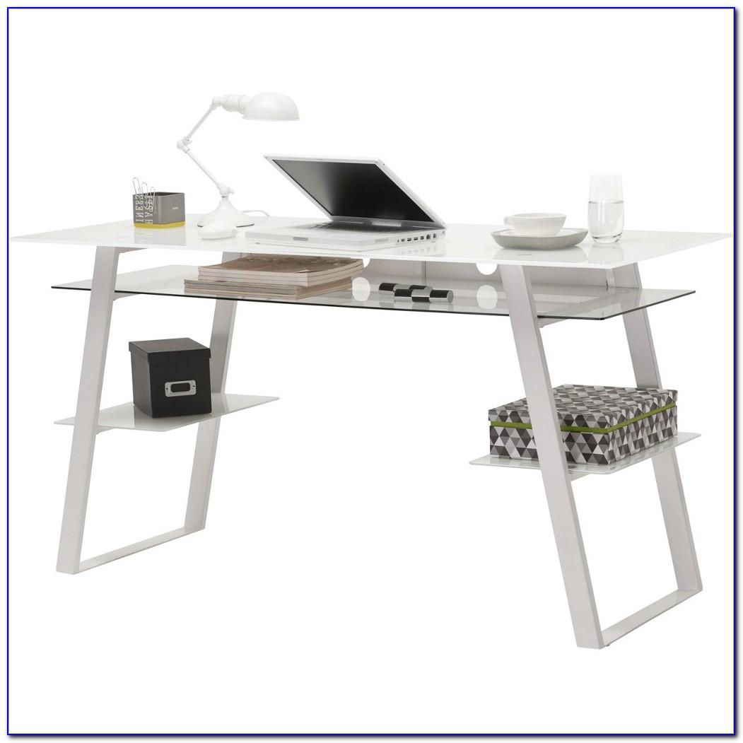 Schreibtisch Metall Schwarz