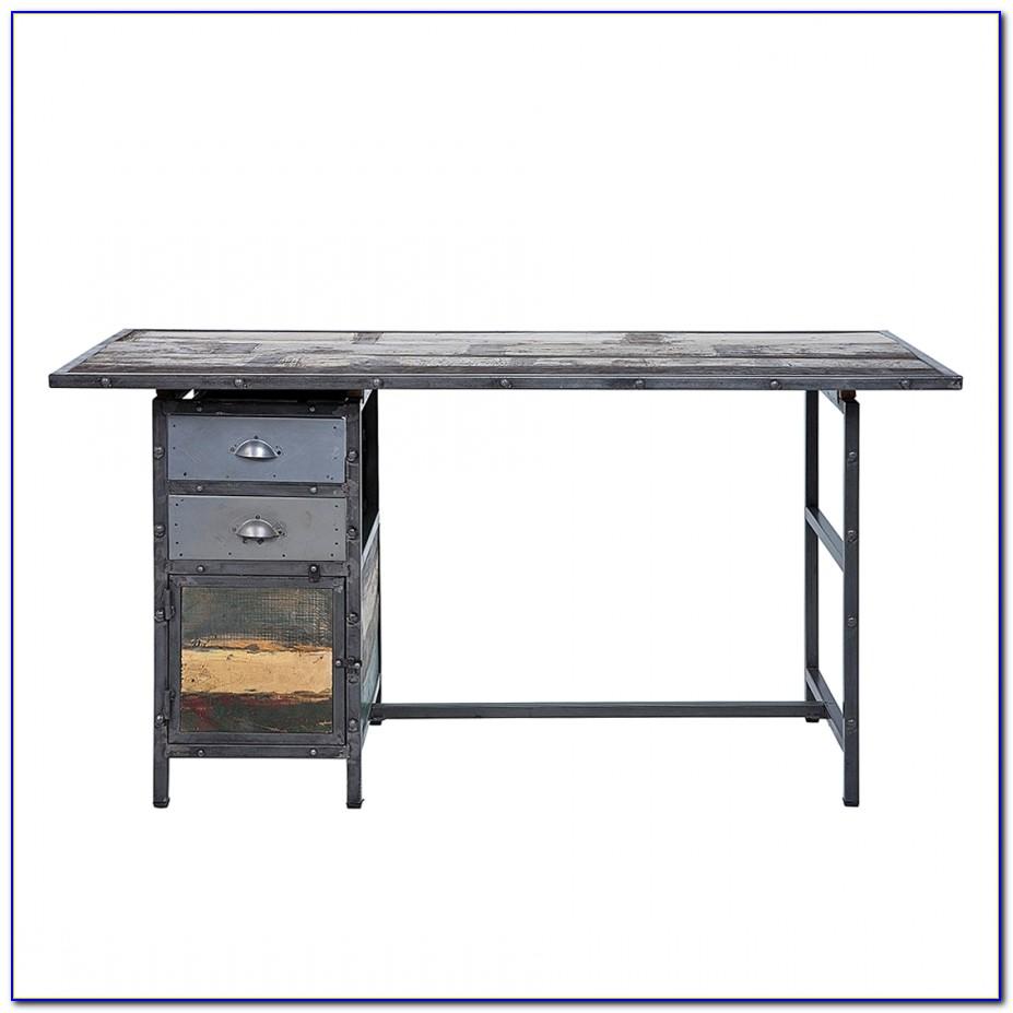 Schreibtisch Metallgestell