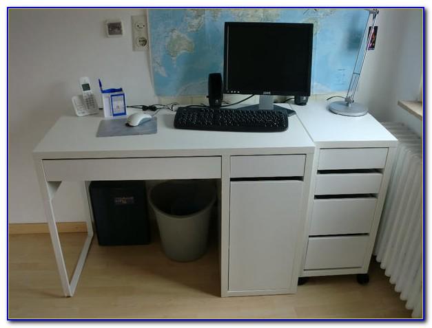 Schreibtisch Micke Höhe