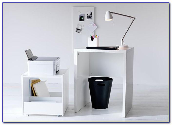 Schreibtisch Micke Schwarz