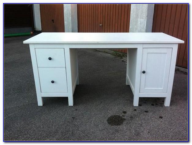 Schreibtisch Milchglas Ikea