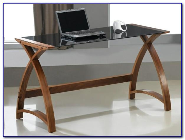 Schreibtisch Milchglasplatte Ikea