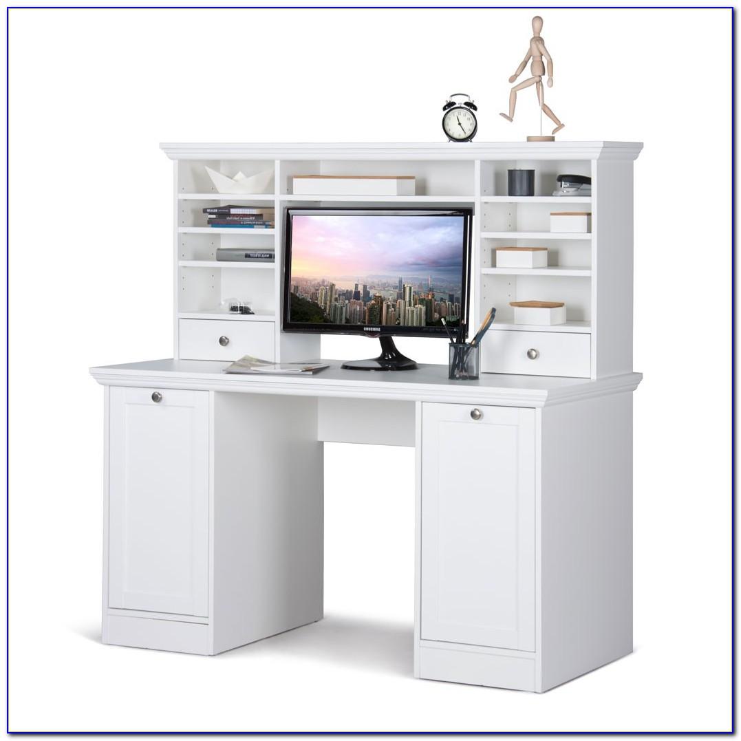 Schreibtisch Mit Aufsatz Buche