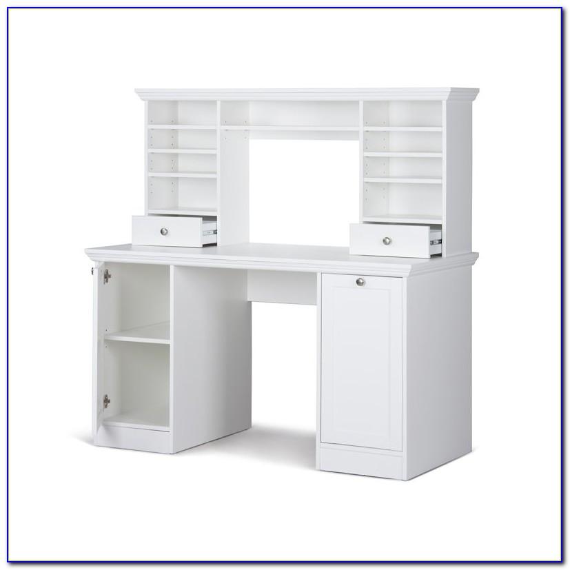 Schreibtisch Mit Aufsatz Kiefer