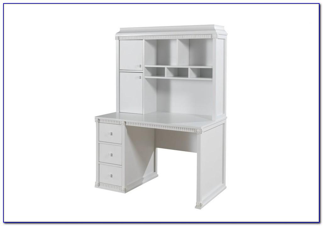 Schreibtisch Mit Aufsatz Weiß