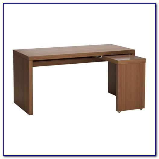 Schreibtisch Mit Ausziehplatte