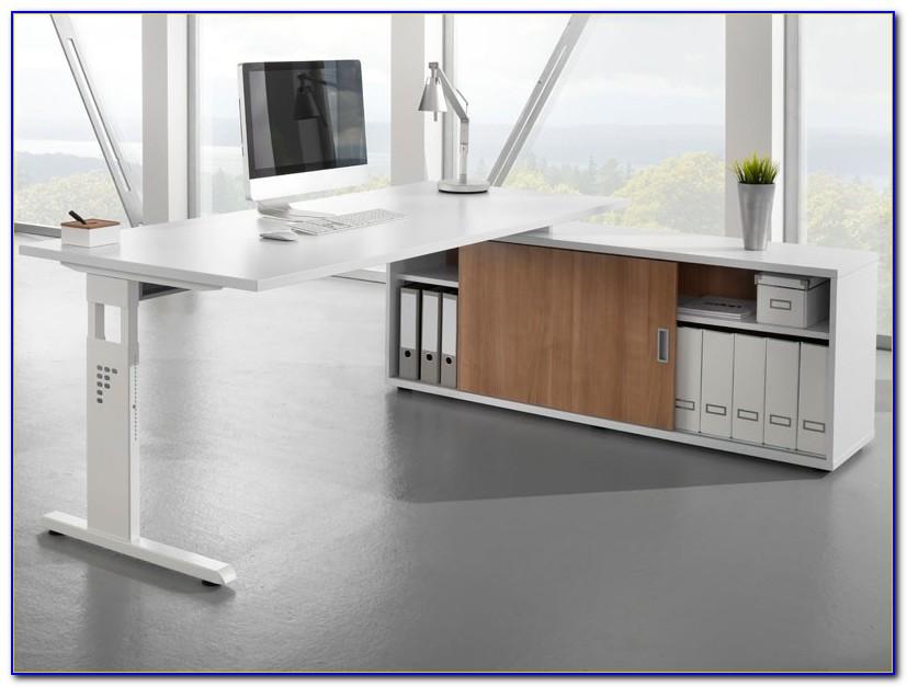 Schreibtisch Mit Kabelführung