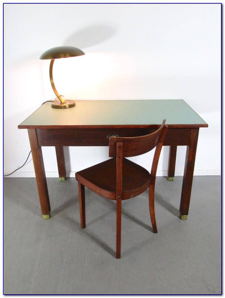 Schreibtisch Mit Linoleum