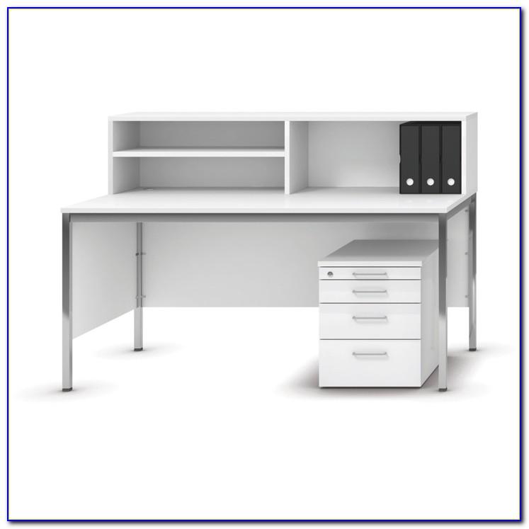 Schreibtisch Mit Regalaufsatz
