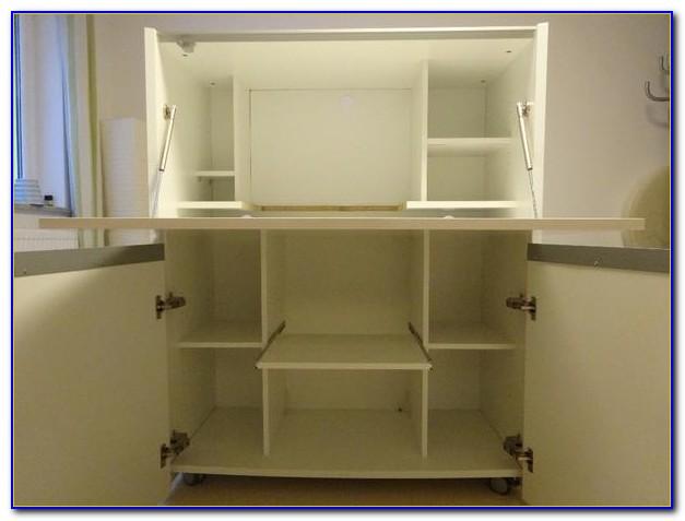 Schreibtisch Mit Viel Stauraum Selber Bauen