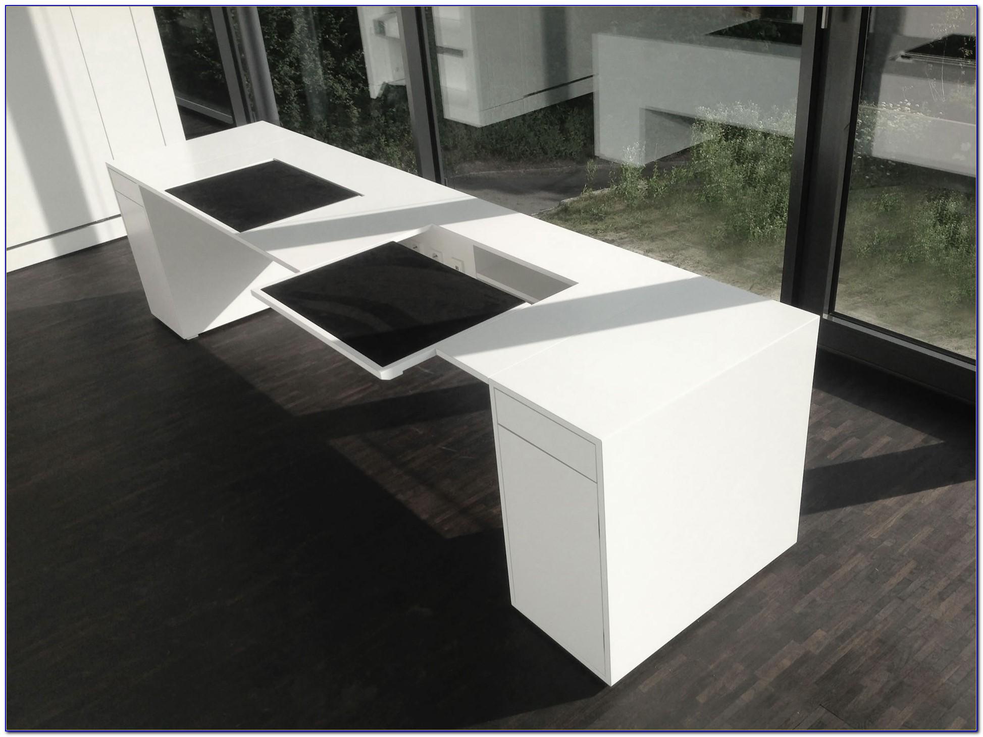 Schreibtisch Modern Mahagoni