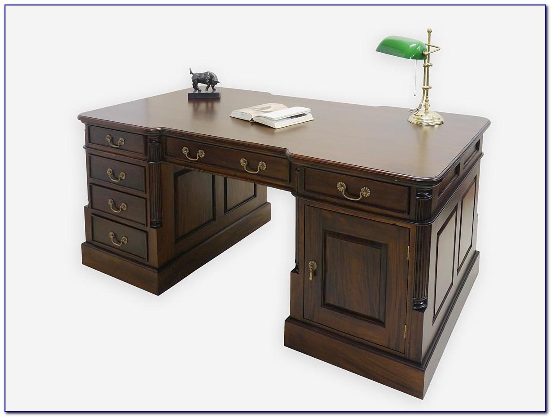 Schreibtisch Nussbaum Antik