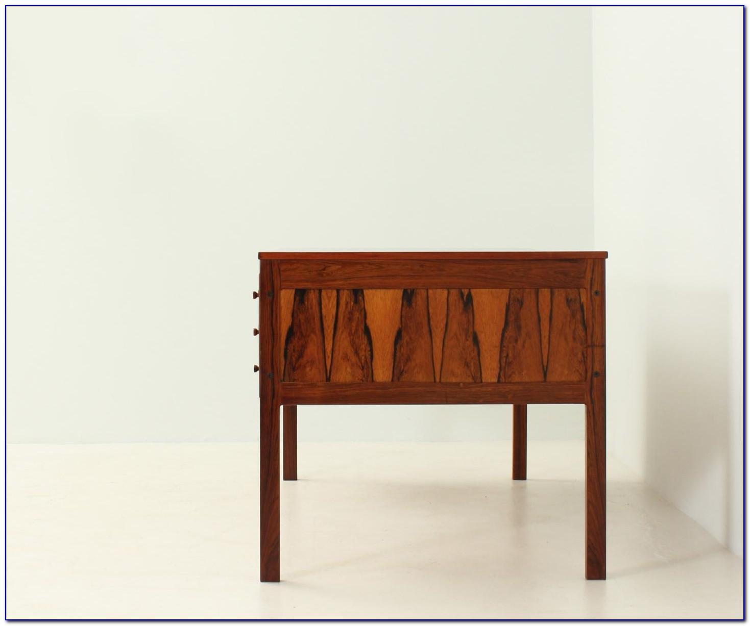 Schreibtisch Palisander 70er