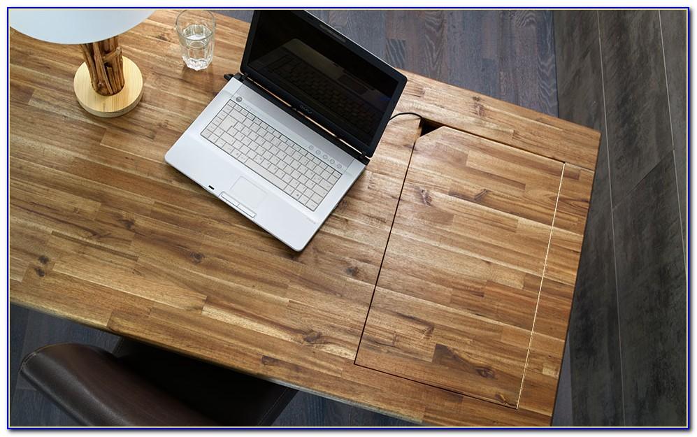 Schreibtisch Platte Glas