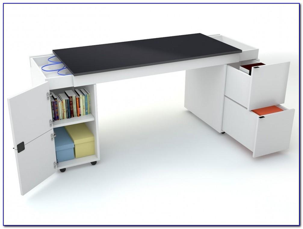 Schreibtisch Platte Massivholz