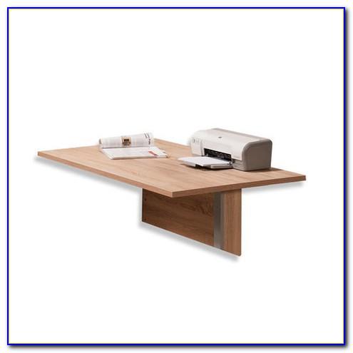 Schreibtisch Platte Weiß