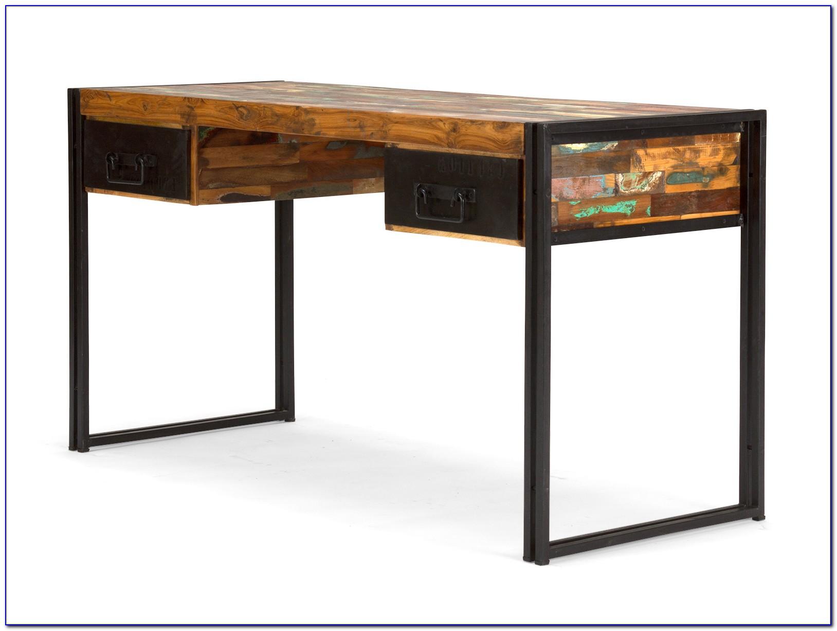 Schreibtisch Quebec 150×60 Antik Holz Möbel