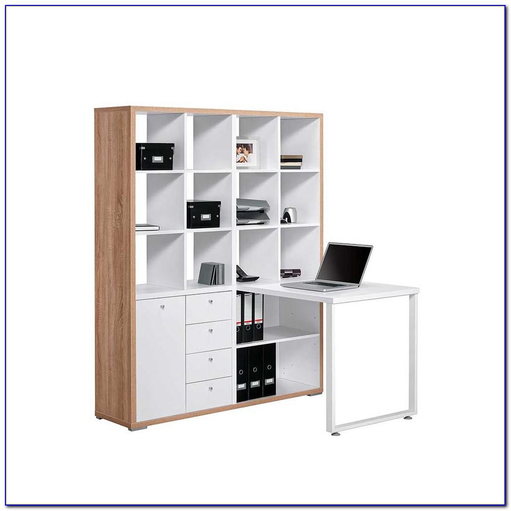 Schreibtisch Regal Selber Bauen