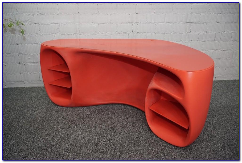 Schreibtisch Rot Ikea