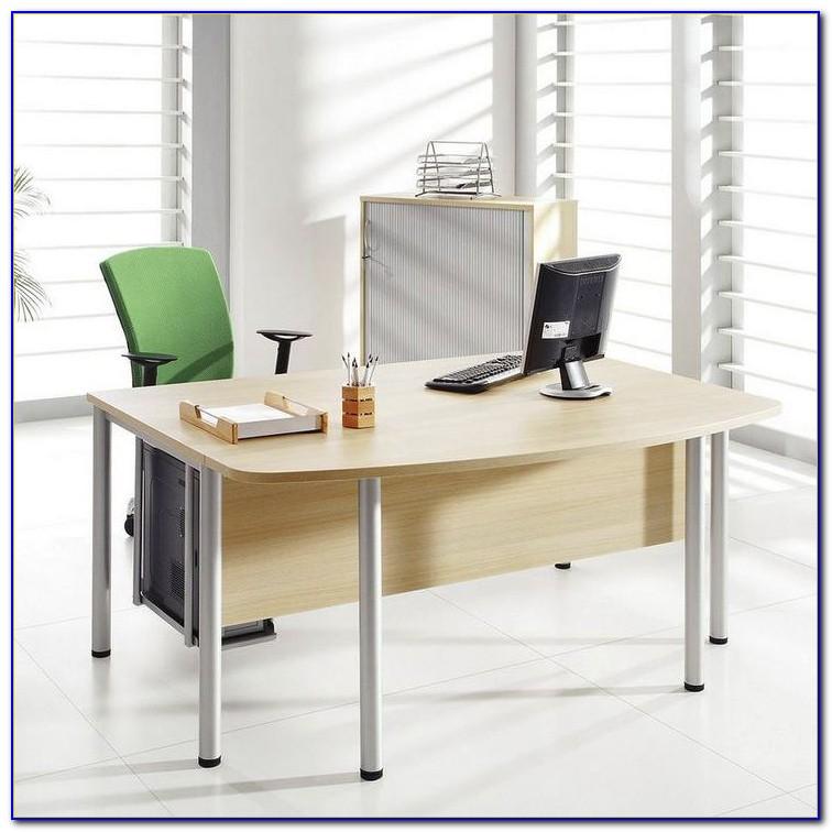 Schreibtisch Rundung