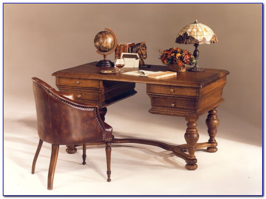 Schreibtisch Rustikal Antik