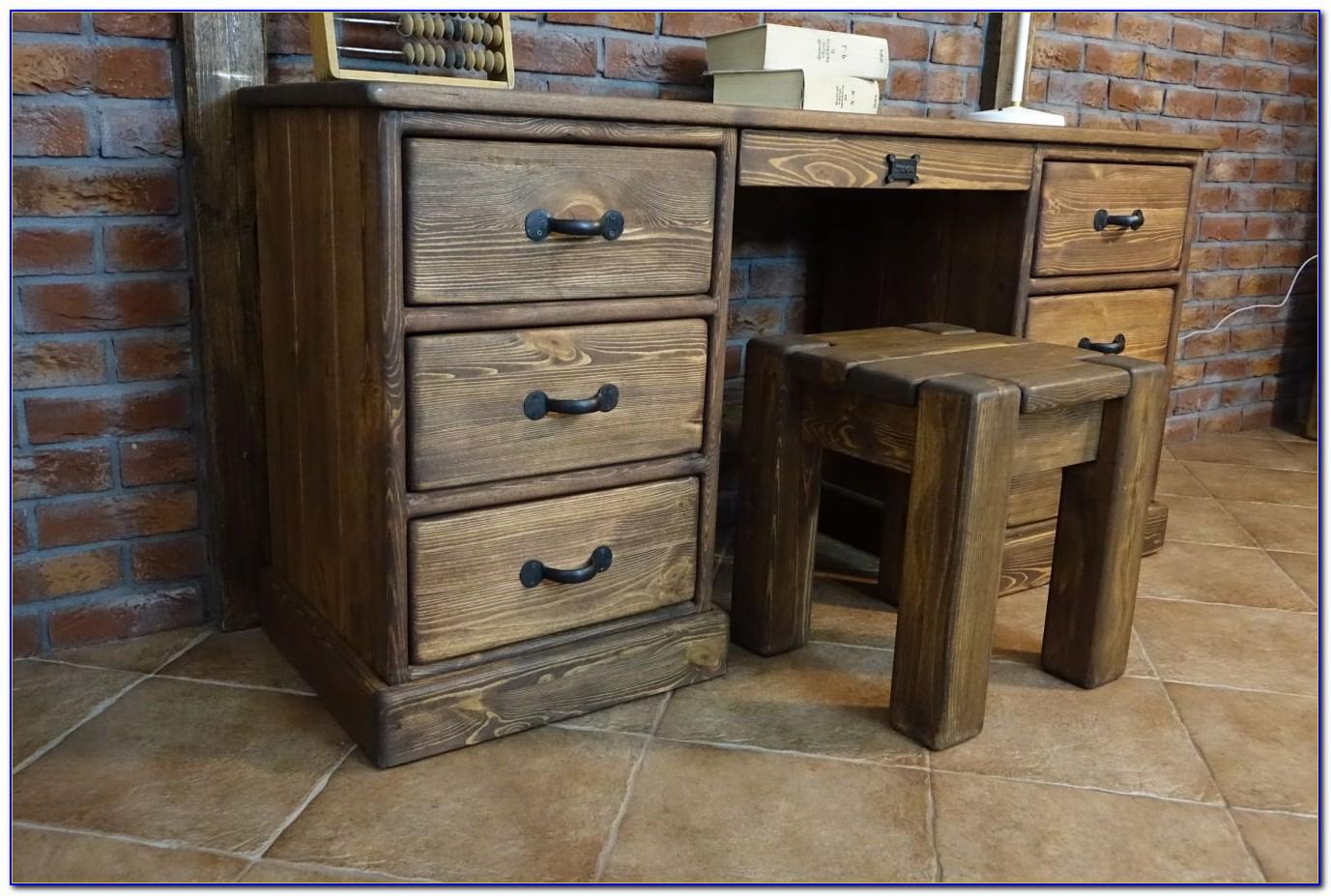 Schreibtisch Rustikal Landhaus