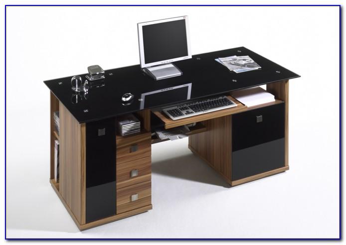 Schreibtisch Schmal Ausziehbar