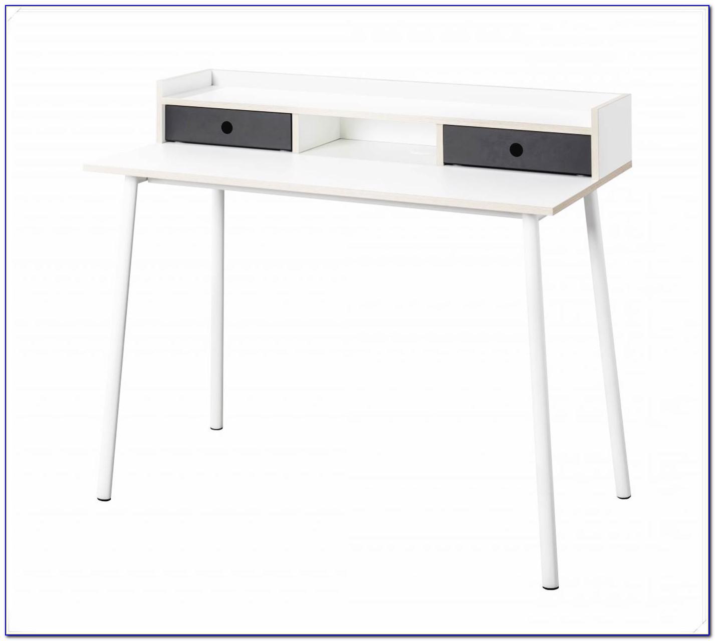 Schreibtisch Schmal Holz