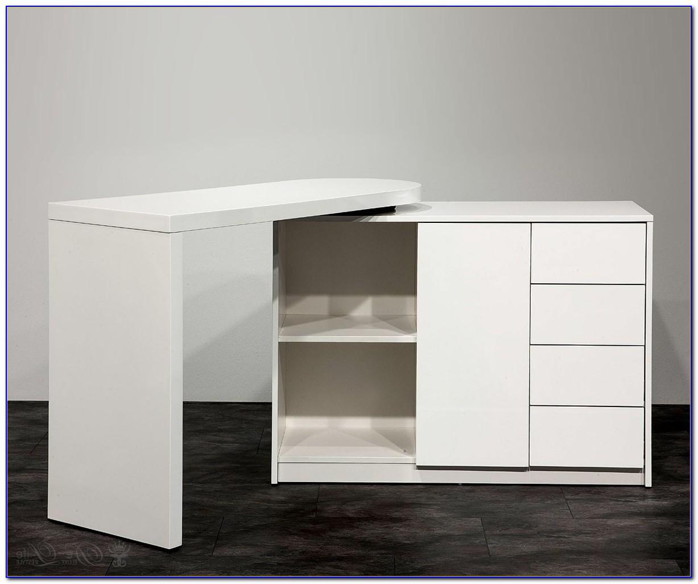 Schreibtisch Schrank Abschließbar