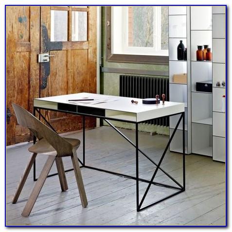 Schreibtisch Schwarz Höhenverstellbar