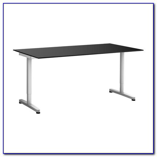 Schreibtisch Schwarz Holz