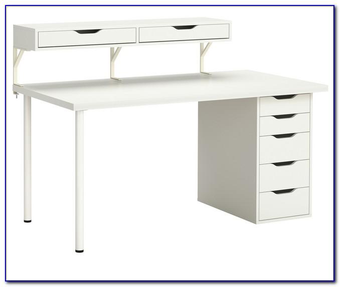 Schreibtisch Schwarz Weiß Ikea