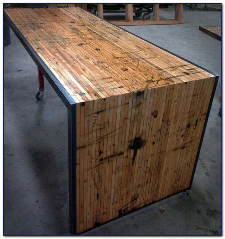 Schreibtisch Selber Bauen Arbeitsplatte