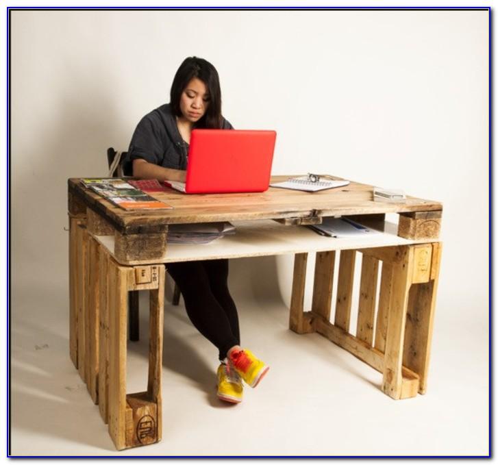 Schreibtisch Selber Bauen Massivholz